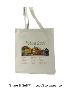 Poland Commemorative Travel Bag Design Zoom